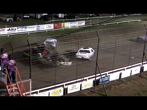 Wild Start MCA Hobby Stock A Feature Wakeeney Speedway 5-25-15