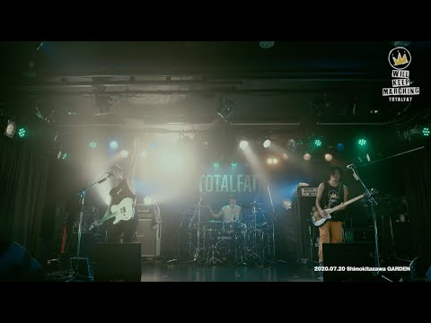 TOTALFAT Streaming show「Will Keep Marching」Digest Movie