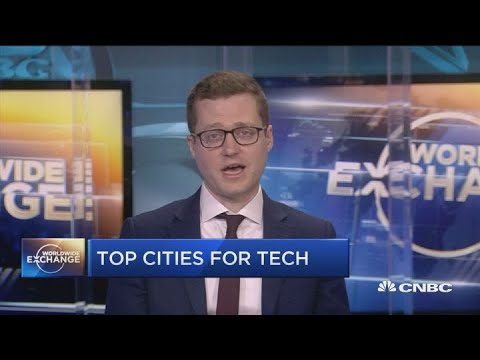What Are The Top Cities For Tech In The World?