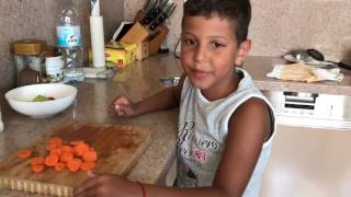Рецепт детского салата Дружба