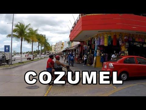 Walking Tour Cozumel, Mexico
