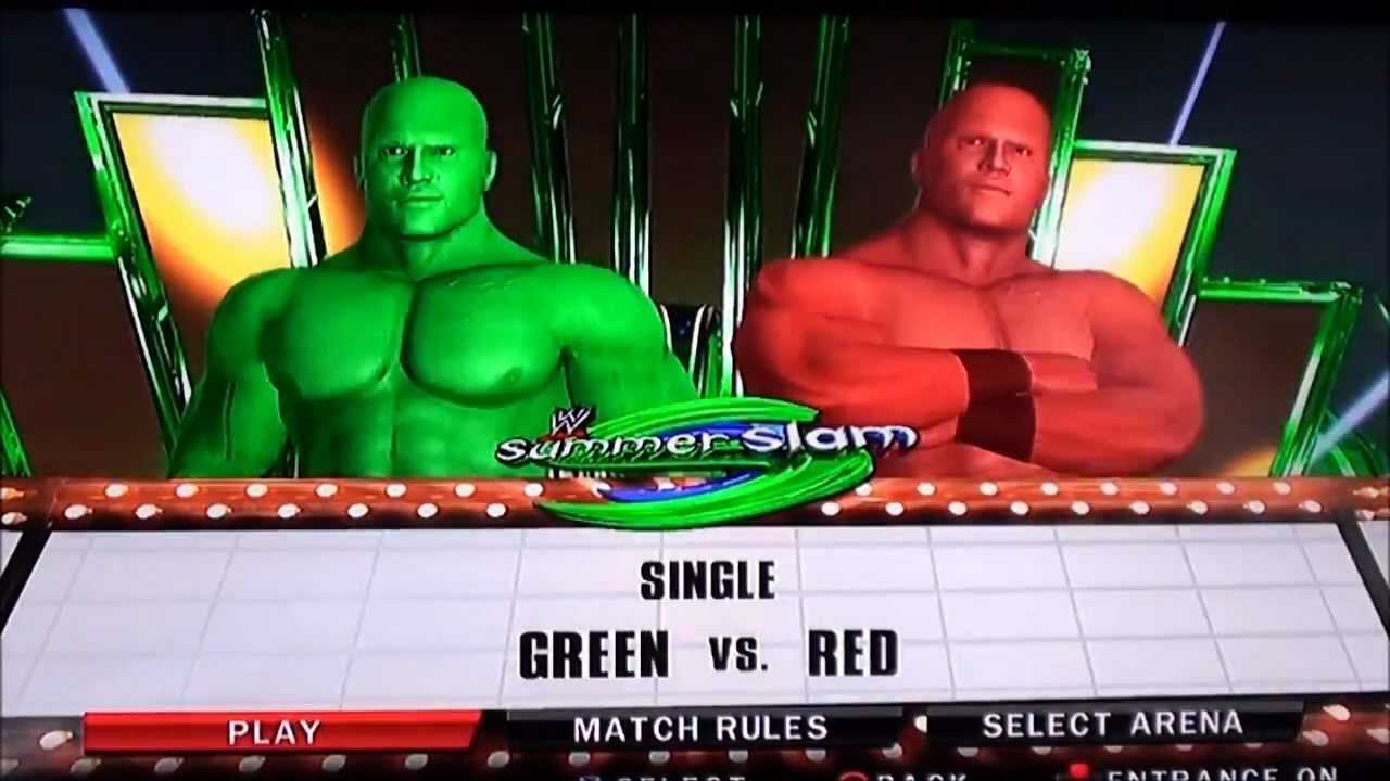 Image result for smackdown 2010 red and green