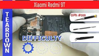 Xiaomi Redmi 9T M2010J19SY 📱 Teardown Take apart Tutorial
