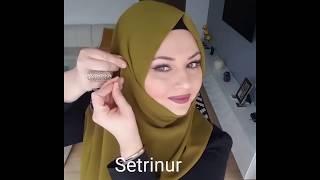 Suna Yurtalan Şal Modeli @Sehri__istanbul
