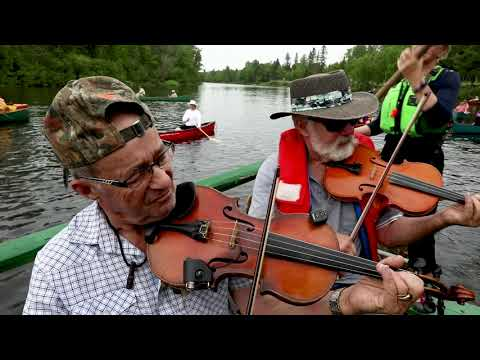 FIDDLES ON THE TOBIQUE: The Curious Sights and Sounds of a New Brunswick Canoe Gathering like no Other