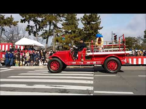 Kyoto Fire Fighters Parade