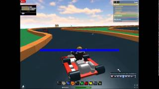 Roblox go kart racing:Furys big win