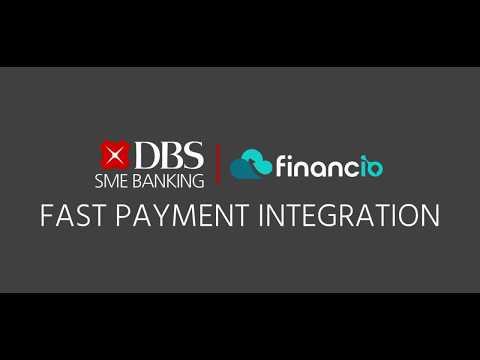 Financio X DBS Fast Payment Integration