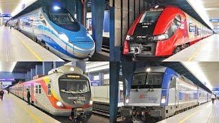 [Warszawa Centralna] Pociągi w Warszawie / Trains in Warsaw