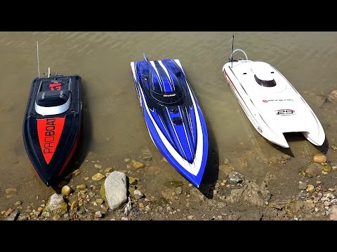 RC ADVENTURES - 3 Speed Boats & Full Scale Recovery - Impulse 31, Spartan, Mystic 29
