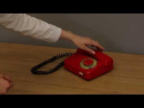 Telephone Tulipan - dialling