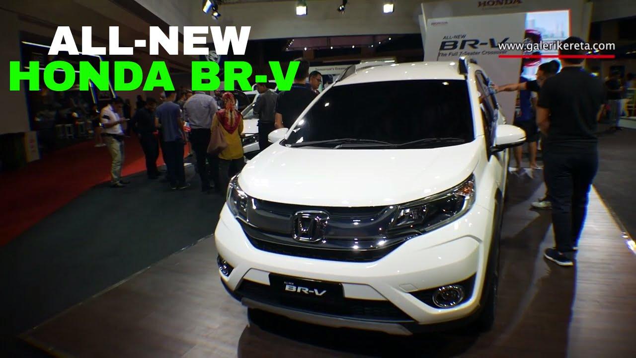 Honda Brv New Seater Crossover Malaysia Auto Show Miecc