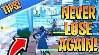 SECRET Pour clutch Endgame EASY! Fortnite Ps4/Xbox Tips and Tricks Saison 8 (Comment gagner à Fortnite)