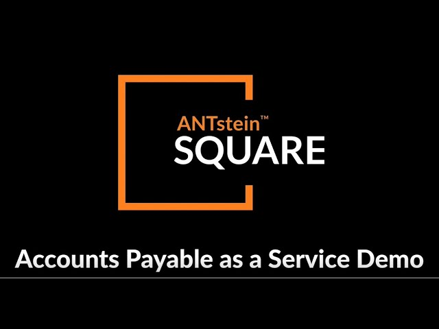 ACCOUNTS PAYABLE AS A SERVICE PRODUCT DEMONSTRATION