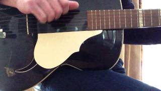 "Framus ""Black Rose"" Archtop Guitar 1956"