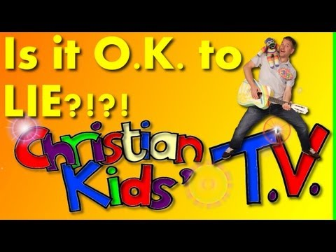 IS IT OK TO LIE? TRUSTING THE BIBLE FOR VERY YOUNG CHILDREN.