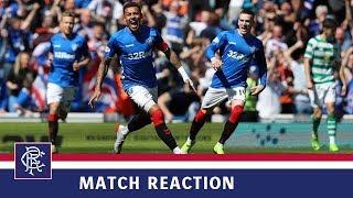 REACTION | James Tavernier | Rangers 2-0 Celtic Video