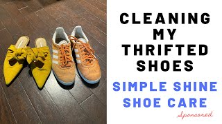Cleaning My Thrifted Shoes SPONSORED
