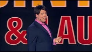 Michael McIntyre live and laughing on accents