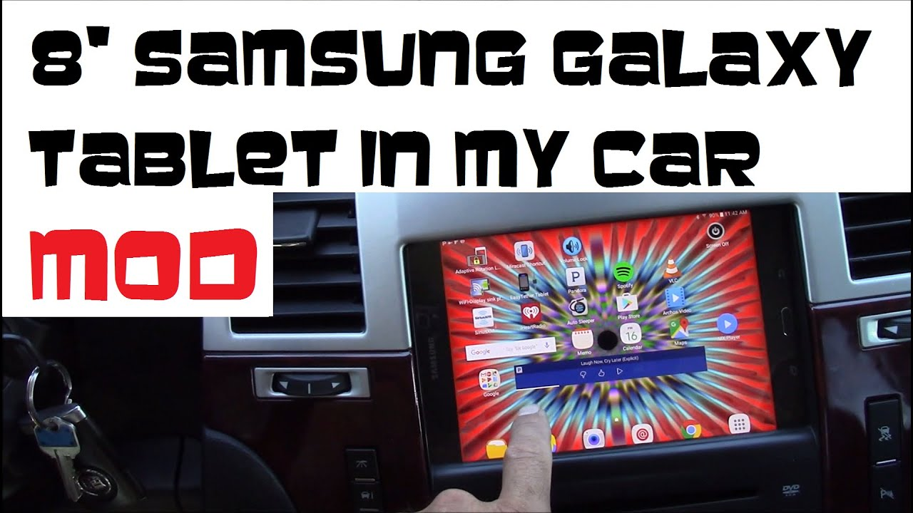 How to install 8 samsung galaxy tablet as car stereo in 2007 2014 how to install 8 samsung galaxy tablet as car stereo in 2007 2014 cadillac escalade youtube keyboard keysfo Choice Image