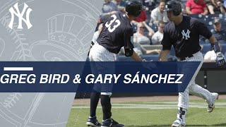 Bird and Sanchez go deep in Yanks' win