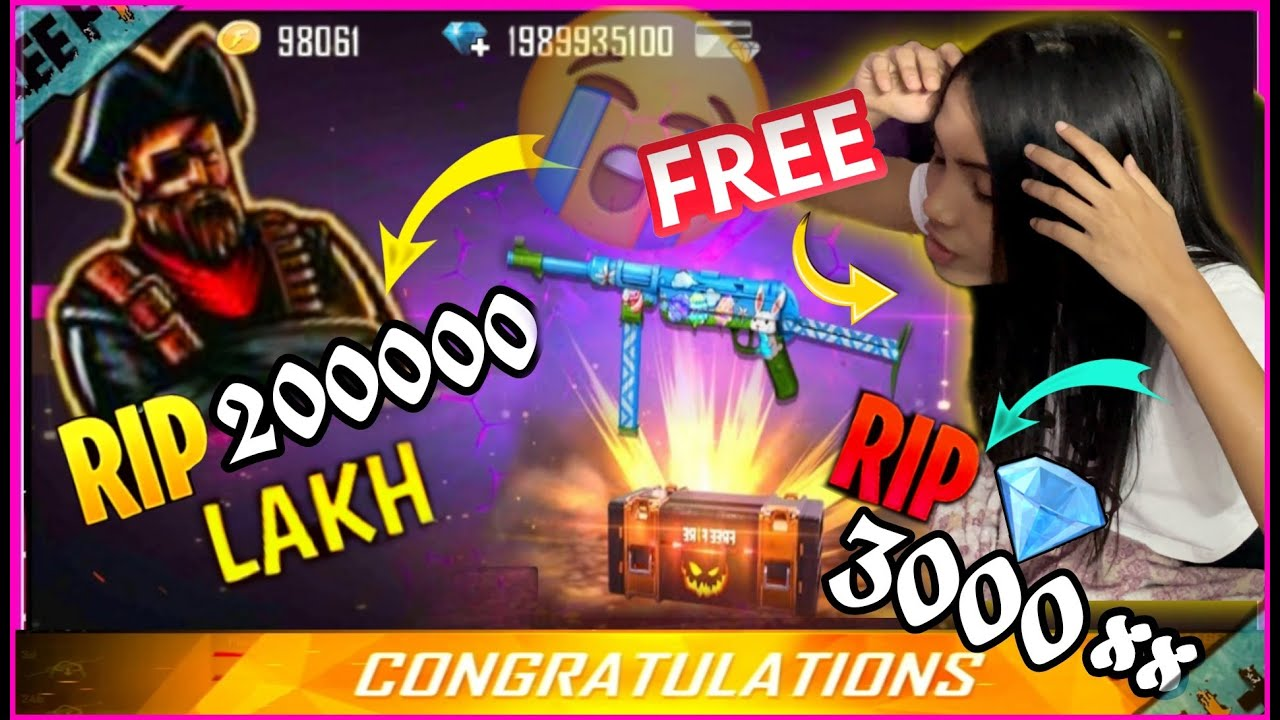 How I Got Crazy Bunny MP40 Permanent In Free? | BlackPink Gaming | Garena Free Fire