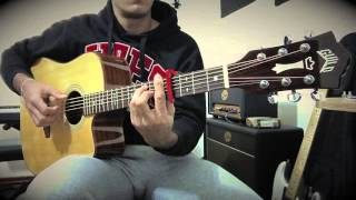 Fix You Coldplay Guild Acoustic Cover