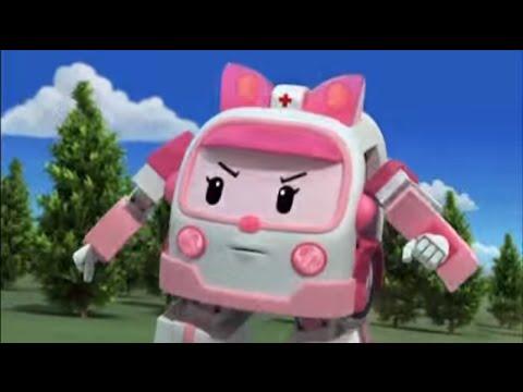 Робокар Поли - Трансформеры - Спасибо, Клини (мультфильм 21)
