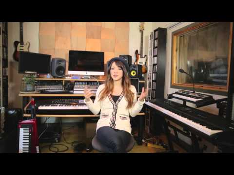 Rie Tsuji (of Beyoncé) and the Korg Kronos Music Workstation