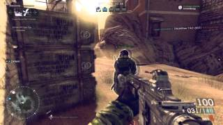 Medal of Honor Warfighter Multiplayer Gameplay Hotspot Pointstreaks
