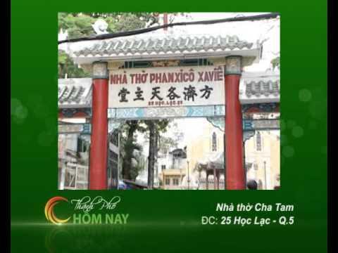 Kiến trúc Nhà thờ Tân Sa Châu/ Ba chuông - Cà Phê Sáng [HTV9 - 10.12.2012]