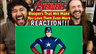 AVENGERS BLOOPERS That Will Make You Love Them Even More - REACTION!!!
