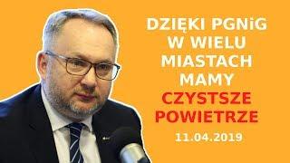 Prezes PGNiG, Henryk Mucha: Dzięki spółce jest lepsza jakość powietrza w Polsce