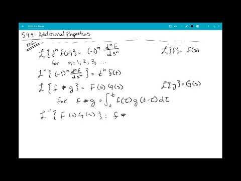 4.4: Derivatives/Convolution - derivative property (1/8)
