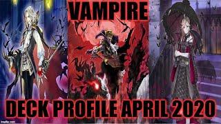 Gambar cover VAMPIRE DECK PROFILE (APRIL 2020) YUGIOH!