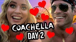 COACHELLA DAY 2! Beyonce & Lily's Cabo Boyfriend?!