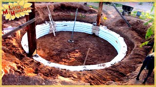 Beginning to Build the Earthbag Walls | Shae's Earthbag Bedroom Ep5 | Weekly Peek
