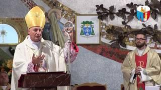 Homilia ks bpa Andrzeja Jeża na posłanie misyjne ks Szymona Pietryki