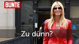 Heidi Klum - Ihr Ex-Trainer spricht zu den Magervorwürfen   - BUNTE TV