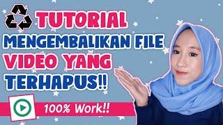 MengembalikanVideoYangTerhapus #KakYog 100% MUDAH !!! Yuk Simak Videonya Sampai Selesai. (DONT SKIP .