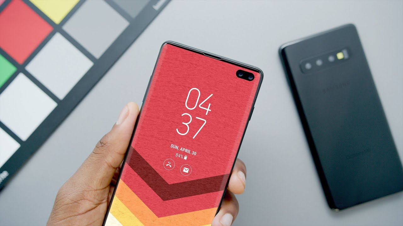 Galaxy S10 And Galaxy S10 Models Reveal Boxy Design In New Video Sammobile