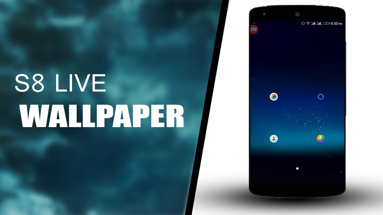 Galaxy S8 Live Wallpaper App for Android - YouTube