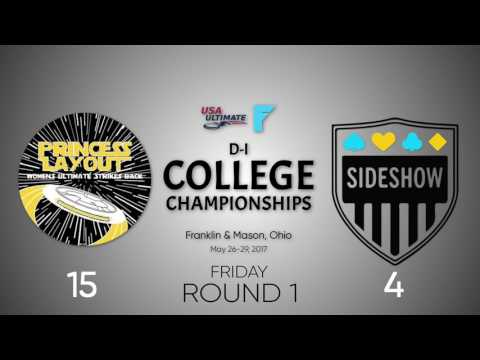 2017 College Nationals Round 1 Highlight: Delaware vs. Dartmouth