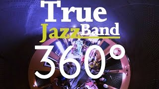 True Jazz Band - Can't stop the feeling(cover) in Taiga Sound Studio 360° music video