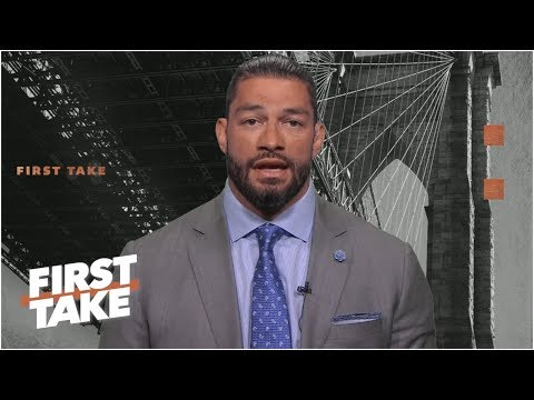 Roman Reigns talks battle with leukemia, LeBron James and the Lakers   First Take