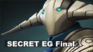 SECRET EG - INTENSE Game 1 - ESL Grand Final Dota 2