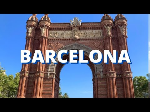 City Break To Barcelona Spain Vacation Travel Tour Holiday Visit Video 2018