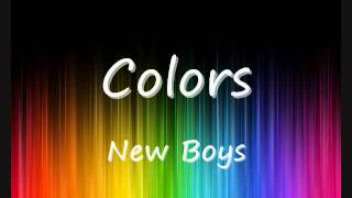 New Boyz- Colors *(Lyrics in Description)*