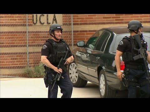 Police: 2 people shot on UCLA campus