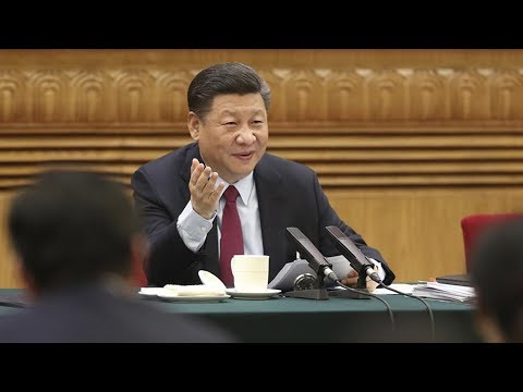 President Xi Jinping joins Shandong delegation for panel discussion